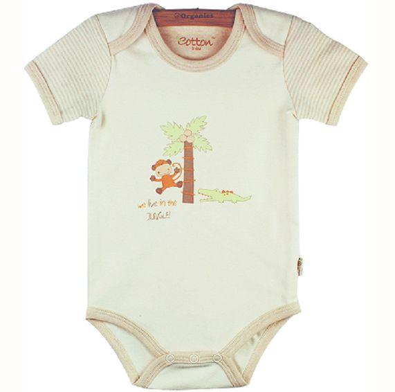 Боди детское из органического хлопка U12E1C1JA212